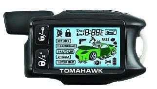 Брелок Tomahawk 9.3