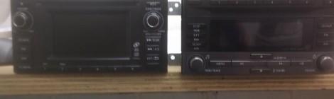 магнитофоны Subaru Forester