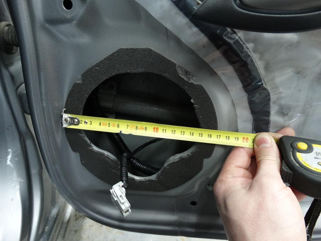 диаметр динамика honda fit