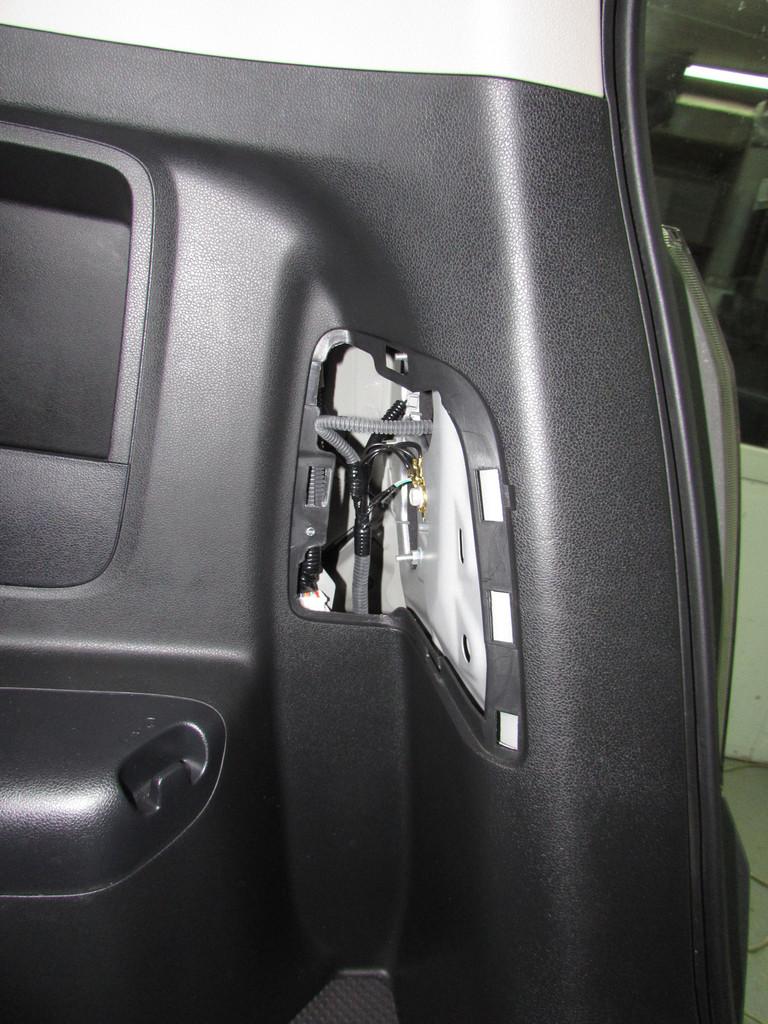 Установка камеры на Honda Fit
