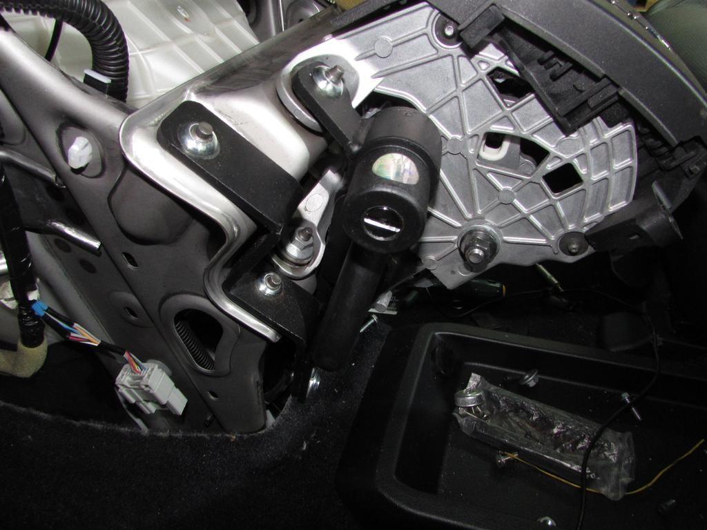 Бесштыревой замок Dragon на Toyota Harrier