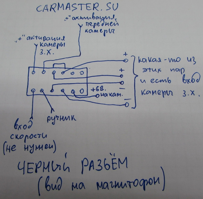 Распиновка Pioneer MP309-A