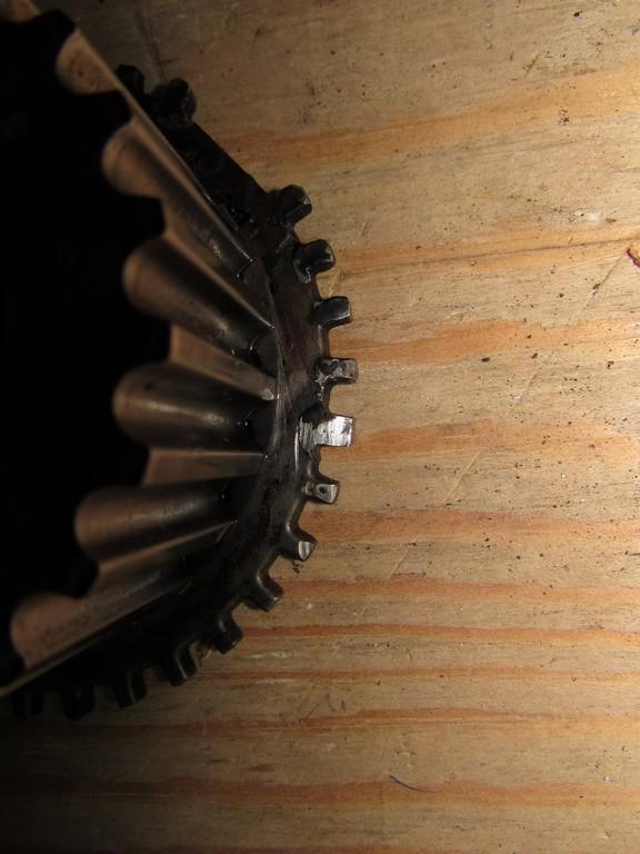 1JZ-GE шестерня с навариными зубцами