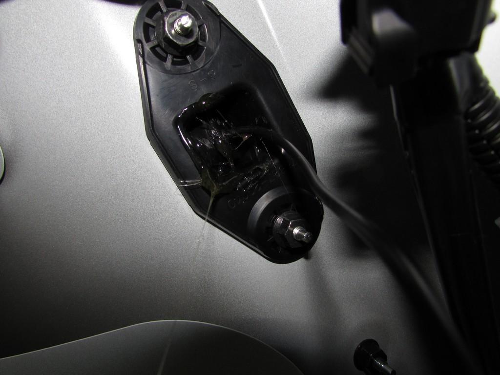 Установка камеры зх на Toyota Premio