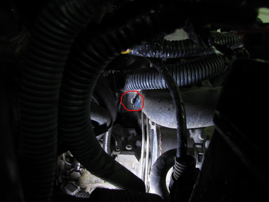 Nissan Patrol ZD30 и датчик температуры